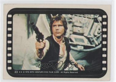 1977 Topps Star Wars Stickers #33 - Han Solo