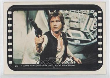 1977 Topps Star Wars Stickers #33 - Han Solo [Good to VG‑EX]