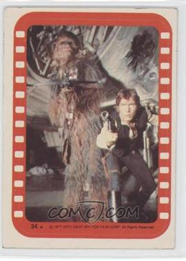 1977 Topps Star Wars Stickers #34 - [Missing]