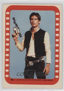 1977 Topps Star Wars Stickers #35 - Han Solo