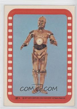 1977 Topps Star Wars Stickers #37 - [Missing]