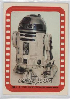 1977 Topps Star Wars Stickers #38 - Artoo-Detoo