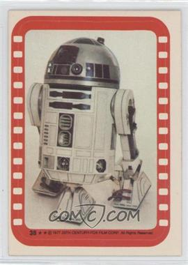 1977 Topps Star Wars Stickers #38 - Artoo-Detoo