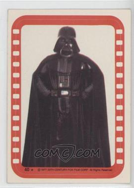 1977 Topps Star Wars Stickers #40 - [Missing]