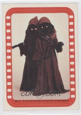 1977 Topps Star Wars Stickers #41 - Jawa