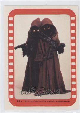 1977 Topps Star Wars Stickers #41 - Jawa