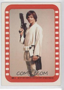 1977 Topps Star Wars Stickers #42 - [Missing]