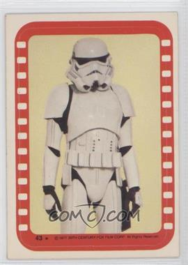 1977 Topps Star Wars Stickers #43 - Stormtrooper