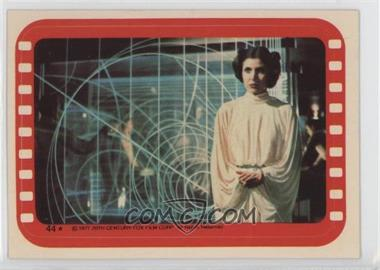 1977 Topps Star Wars Stickers #44 - Princess Leia