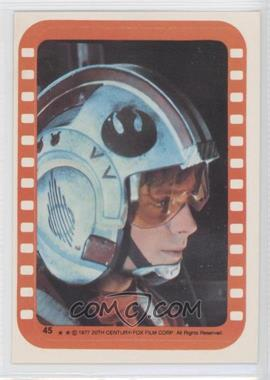 1977 Topps Star Wars Stickers #45 - Luke Skywalker