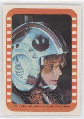 1977 Topps Star Wars Stickers #45 - Luke Skywalker [Good to VG‑EX]