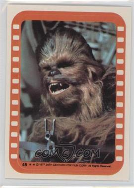 1977 Topps Star Wars Stickers #46 - Chewbacca