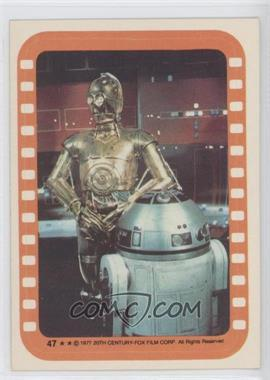 1977 Topps Star Wars Stickers #47 - [Missing]
