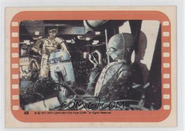 1977 Topps Star Wars Stickers #48 - [Missing]
