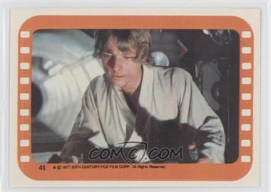 1977 Topps Star Wars Stickers #49 - Luke Skywalker
