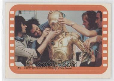 1977 Topps Star Wars Stickers #51 - [Missing]