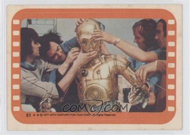 1977 Topps Star Wars Stickers #51 - [Missing] [GoodtoVG‑EX]