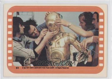 1977 Topps Star Wars Stickers #51 - See-Threepio