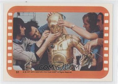 1977 Topps Star Wars Stickers #51 - See-Threepio