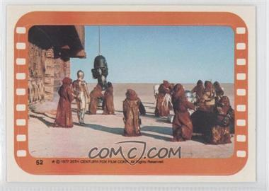 1977 Topps Star Wars Stickers #52 - Jawa [Good to VG‑EX]