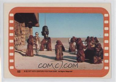 1977 Topps Star Wars Stickers #52 - Jawa