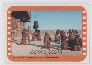 1977 Topps Star Wars Stickers #52 - Jawa