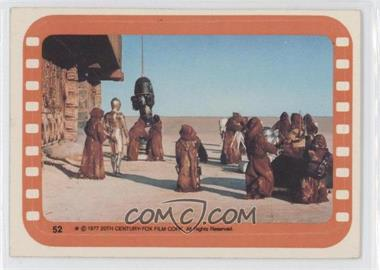 1977 Topps Star Wars Stickers #52 - [Missing]