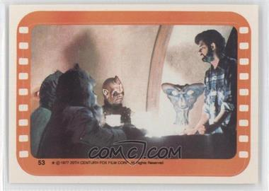 1977 Topps Star Wars Stickers #53 - Inside the Cantina [Good to VG‑EX]