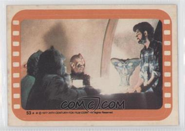 1977 Topps Star Wars Stickers #53 - inside the Cantina