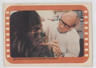 1977 Topps Star Wars Stickers #55 - Chewbacca