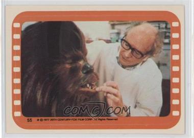 1977 Topps Star Wars Stickers #55 - Chewbacca