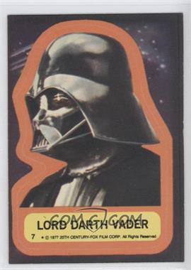 1977 Topps Star Wars Stickers #7 - [Missing]