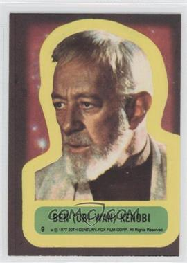 1977 Topps Star Wars Stickers #9 - Ben (Obi-Wan) Kenobi