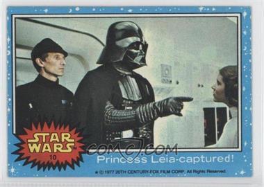 1977 Topps Star Wars #10 - [Missing]