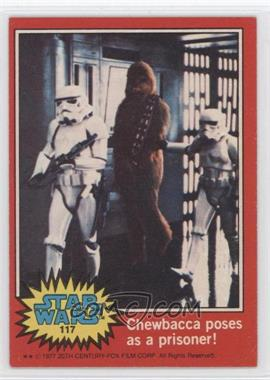 1977 Topps Star Wars #117 - [Missing]