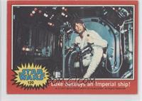 Luke Destroys an Imperial Ship!