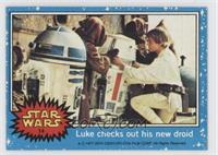 Luke Checks out his new Droid