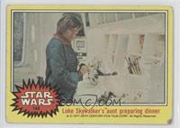 Luke Skywalker's Aunt Preparing Dinner [GoodtoVG‑EX]