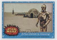 Artoo-Detoo is Missing!