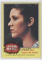 Princes Leia Honors the Victors