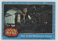 Han in the Millennium Falcon [Good to VG‑EX]