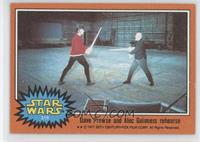 Dave Prowse and Alex Guinness Rehearse