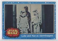 Luke and Han as Stormtroopers [Good to VG‑EX]