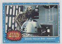 Droids Rescue Their Masters!