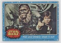 Han and Chewie Shoot it Out! [Good to VG‑EX]
