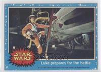 Luke Prepares for the Battle