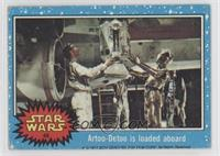 Artoo-Detoo is Loaded Aboard [Good to VG‑EX]