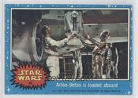 Artoo-Detoo is Loaded Aboard