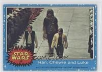 Han, Chewie and Luke [Good to VG‑EX]