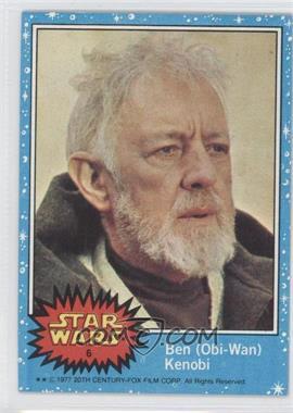 1977 Topps Star Wars #6 - Ben (Obi-Wan) Kenobi